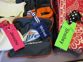 your bag tag