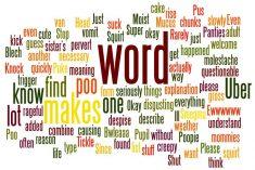 gross words