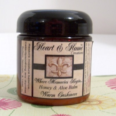 honey aloe balm from heart home creations a magical mess