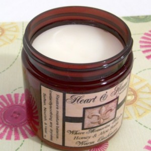 Heart & Home Honey and Aloe Balm