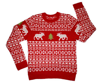 How to Properly Wear a Christmas Sweater