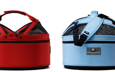 Perfect Pet Carrier that Triples as a Bed and Carseat