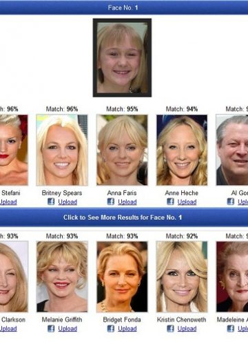 Just for fun – My daughter the look-alike…