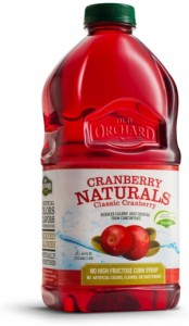 Review & Giveaway: Old Orchard Cranberry Naturals All Natural Juice