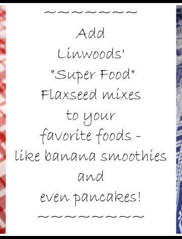 Linwoods Nutrition Flaxseed Super Food