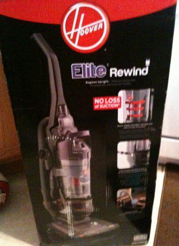Hoover Elite Rewind Bagless Upright Vacuum Review