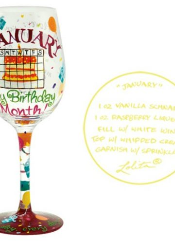 Designs by Lolita Love My Birthday Month Wine Glass Review