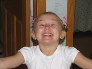 big smiles for the birthday girl