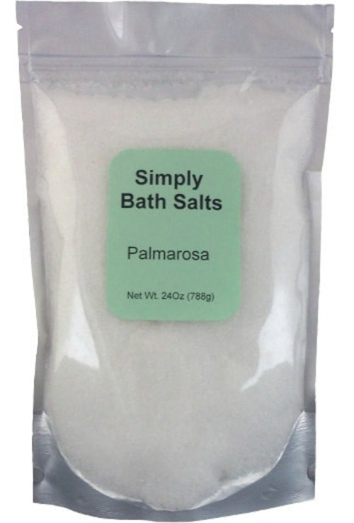 Simply Bath Salts Palmarosa Salts