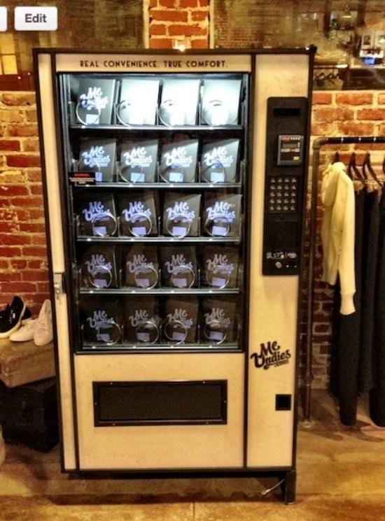 MeUndies Vending Machine