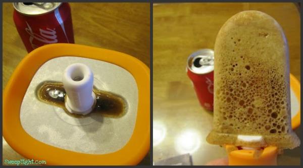 zoku quick pop maker with coke