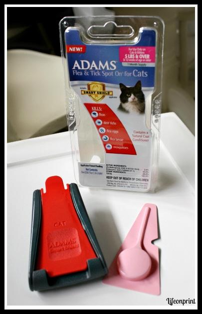 Adams flea control