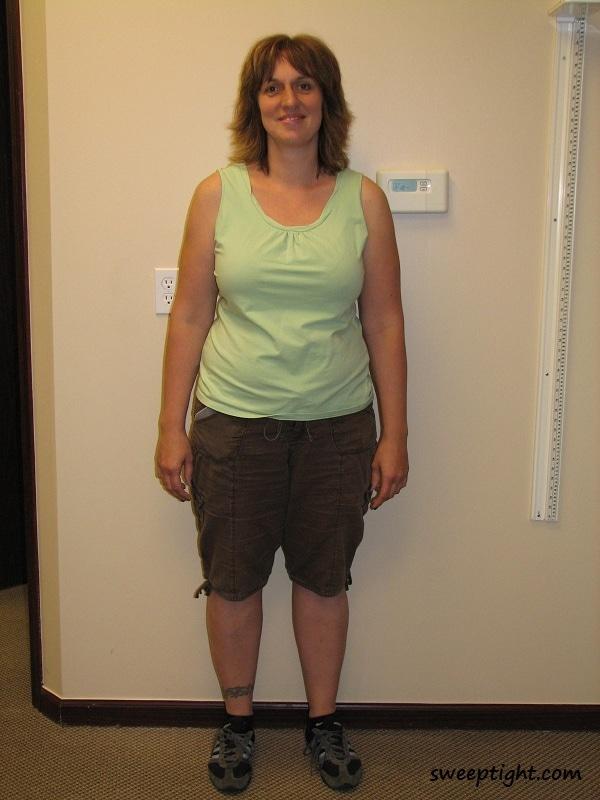 Jodi Weight Loss day one