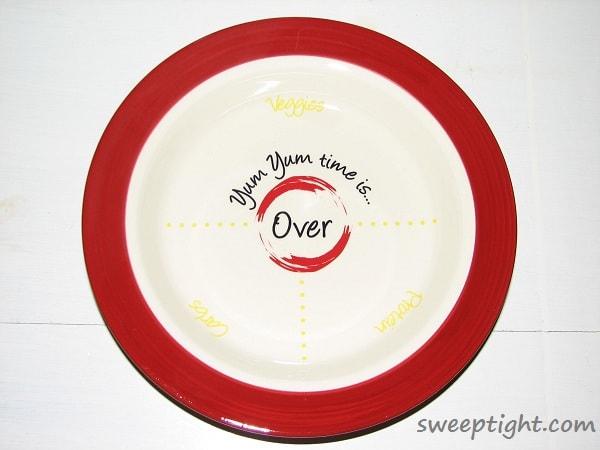 Portion Control Dishes Yum Yum Plates