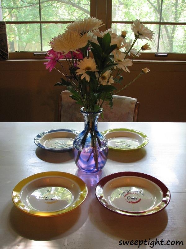 Yum Yum Dishes, Portion Control Plates