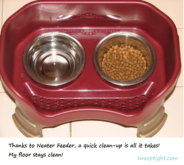 cleaner cat feeder