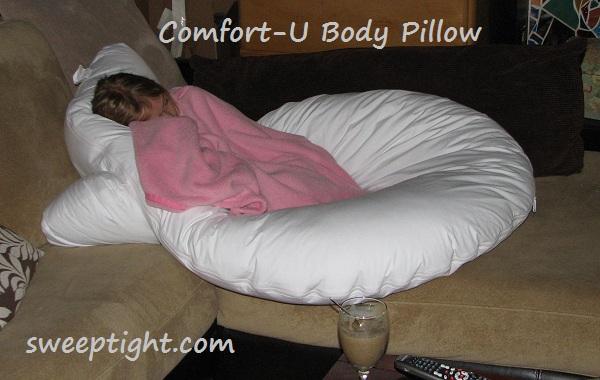 Comfort-U body pillow