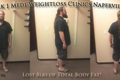 Ben's week one Medi-Weightloss Clinics