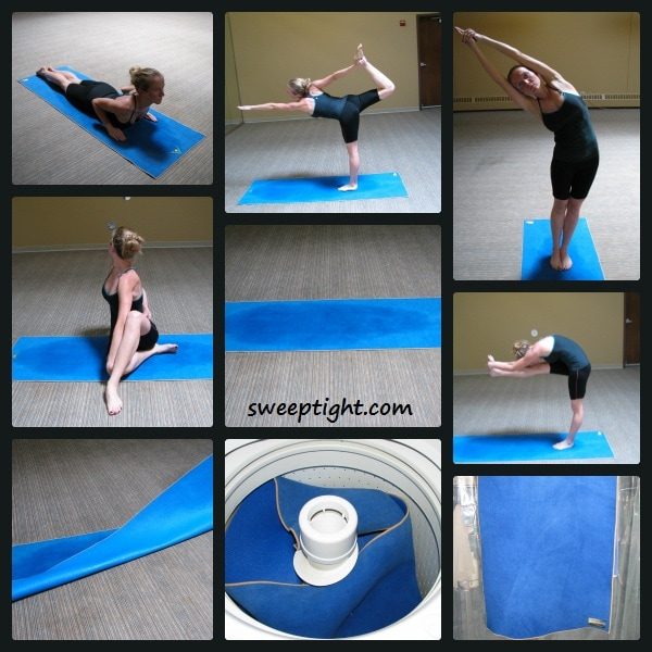 Aurorae Yoga Bikram Hot Yoga Mat Review Sweep Tight
