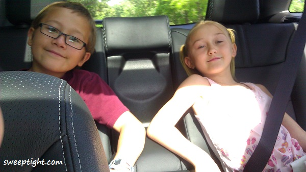 Comfortable ride in the Kia Sorento