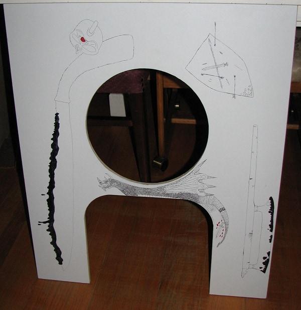 Litter-Robot Cabinet front