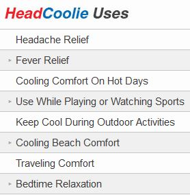 headcoolie uses
