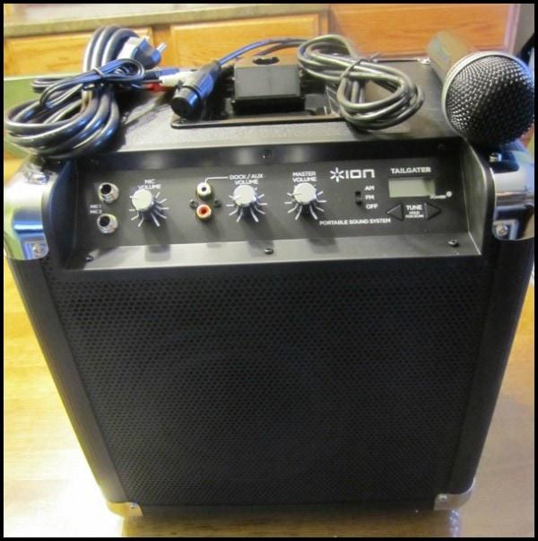 ion tailgater speaker system