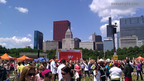 Workout in the Park Chicago