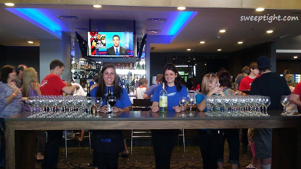 Friendly staff at Studio Movie Grill