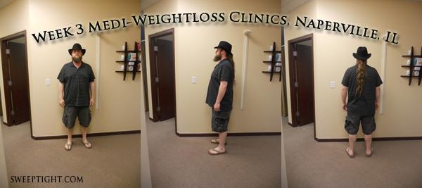 week 3 weight loss Ben