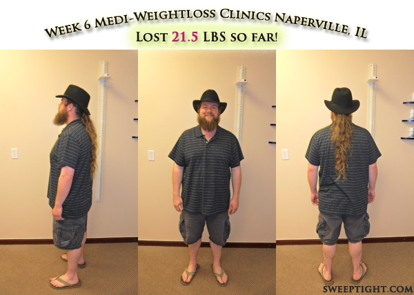 weight loss event week 6 results Ben