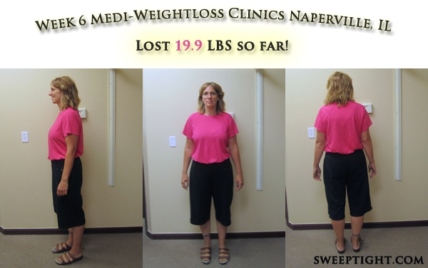 weight loss event week 6 results Jodi