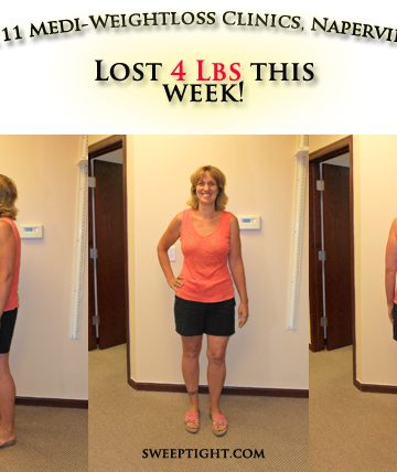Weight loss event week 11 results Jodi