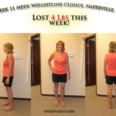 Sweep Tight Biggest Winner Weight Loss Event WEEK 11