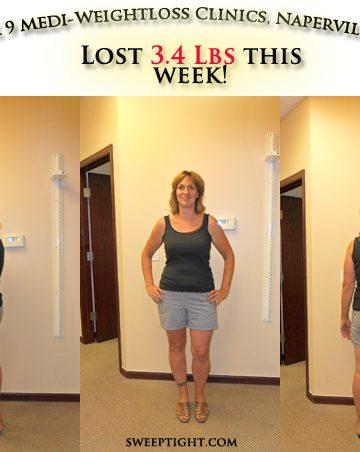 weight loss event week 9 results Jodi