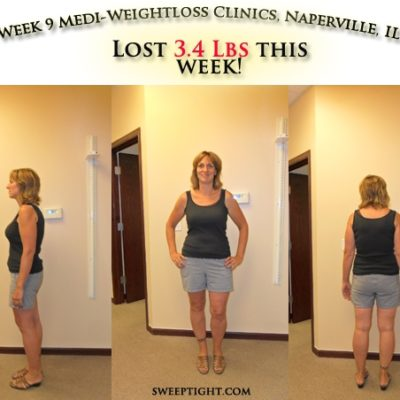 Sweep Tight Biggest Winner Weight Loss Event WEEK 9
