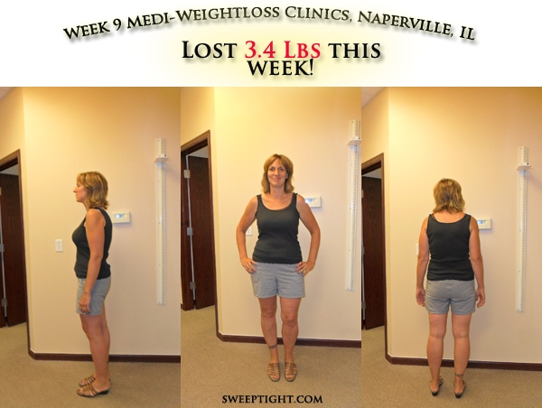 weight loss event week 9 results Jodi