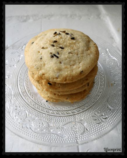 Lavender Lemon Sugar Cookies Recipe