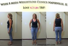 Weight loss event week 8 results Jodi