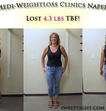 Weight loss event week 8 results Jodi