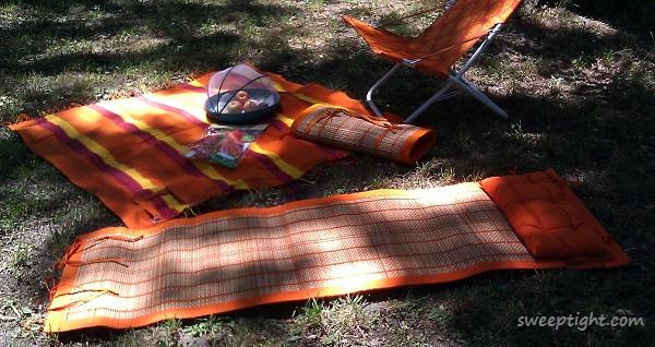 World Market summer getaway backyard picnic