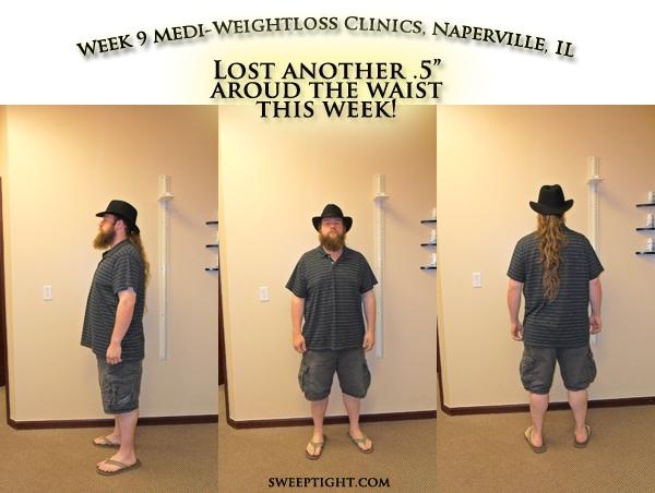 weight loss event week 9 results Ben