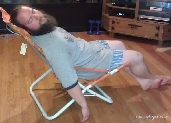 Comfy beach chair