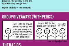 blog group giveaways