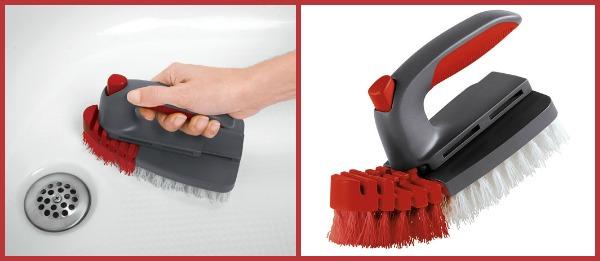 flexible scrubber