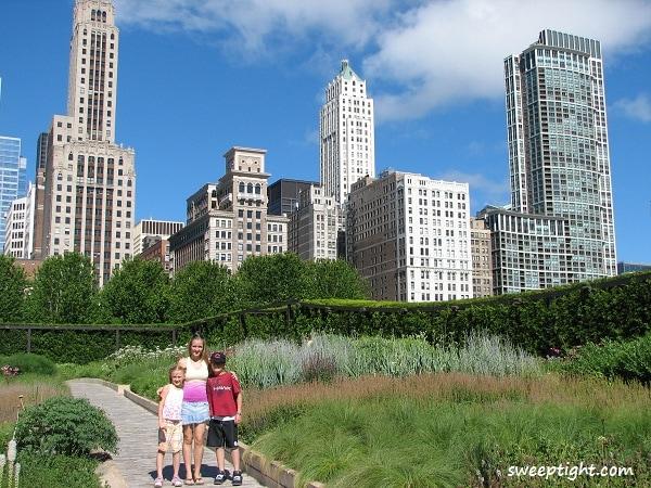 free family fun Millenium Park, Chicago