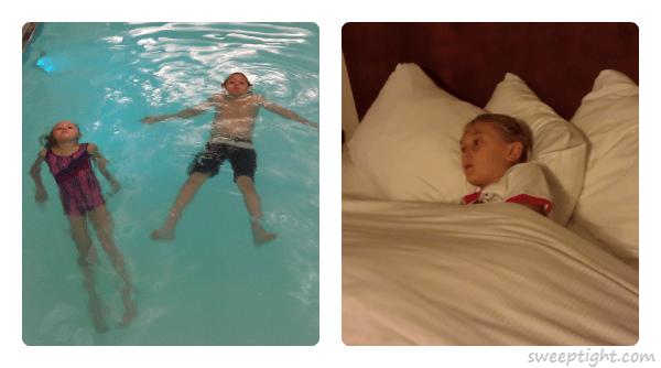 hotel pool fun