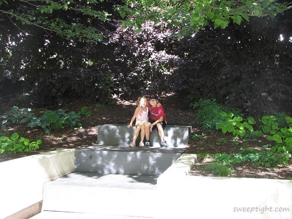 cute kids in park