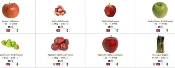 peapod produce