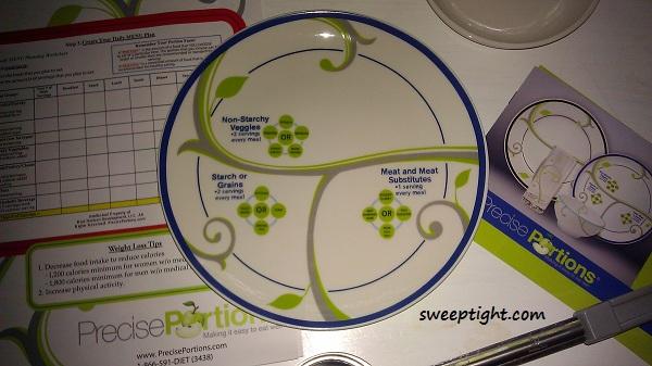 portion control plate Precise Portions